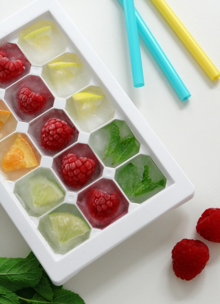 Frozen Fruit To Top A Cake