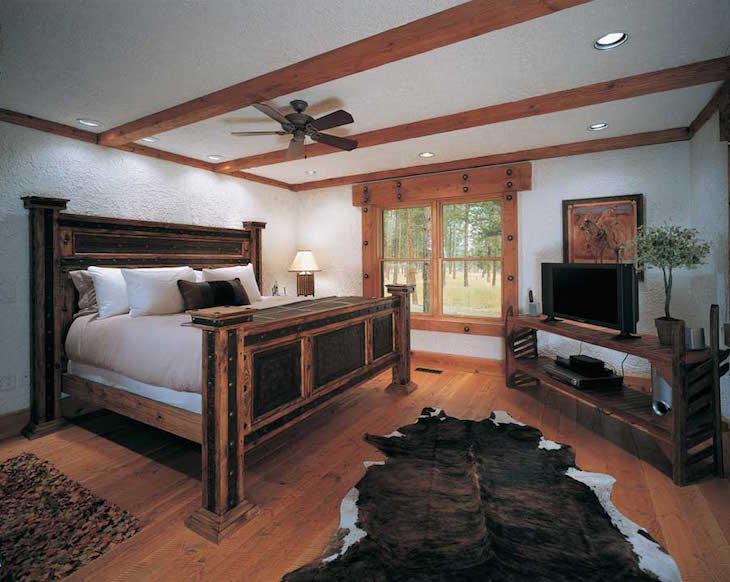 topponderosa-pine-bedroom