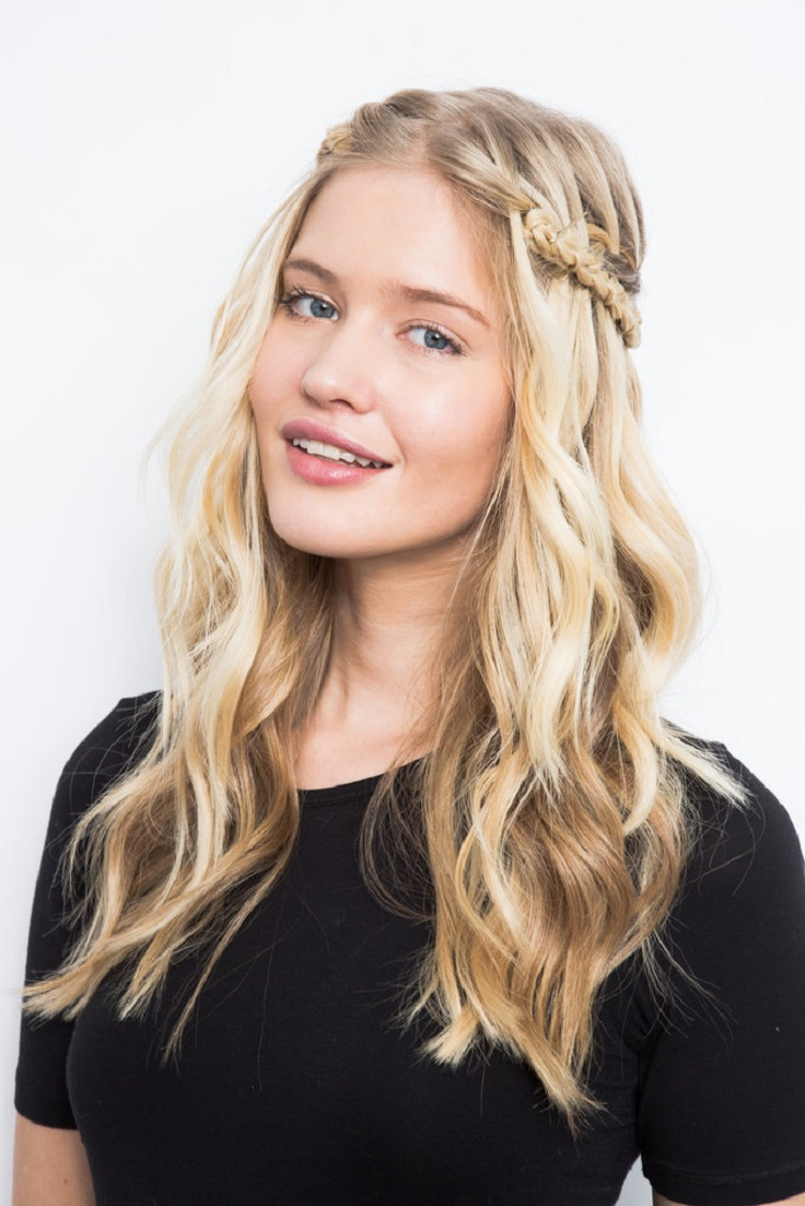 Awe Inspiring Top 10 Cute Braided Hairstyles For Long Hair Top Inspired Short Hairstyles Gunalazisus