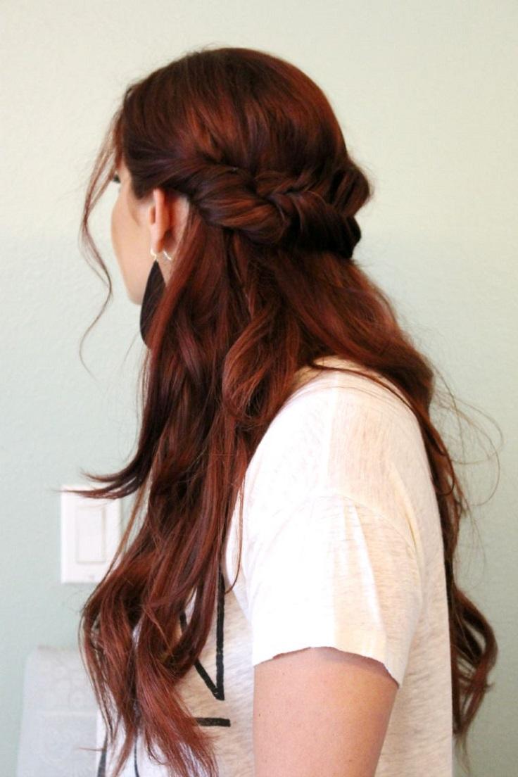 half-up-fishtail-braid