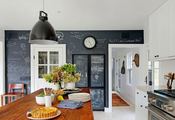 topChalkboard-wall-in-the-kitchen-gives-it-a-playful-modern-twist