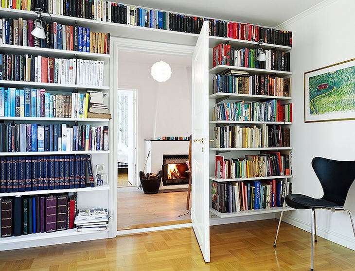 bookshelf organizing ideas 3