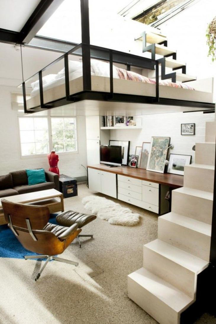 Space Saving Loft Bed top 10 best space-saving loft bed solutions - top inspired
