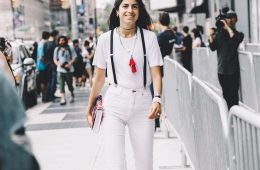 Top 10 Wonderful Street Style Looks from New York Fashion Week SS 2016 | Top Inspired