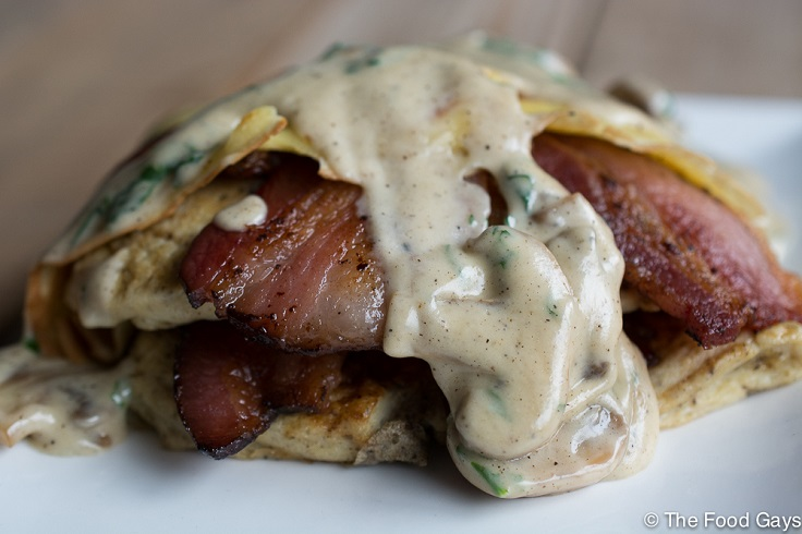 Bacon-Mushroom-Crepe