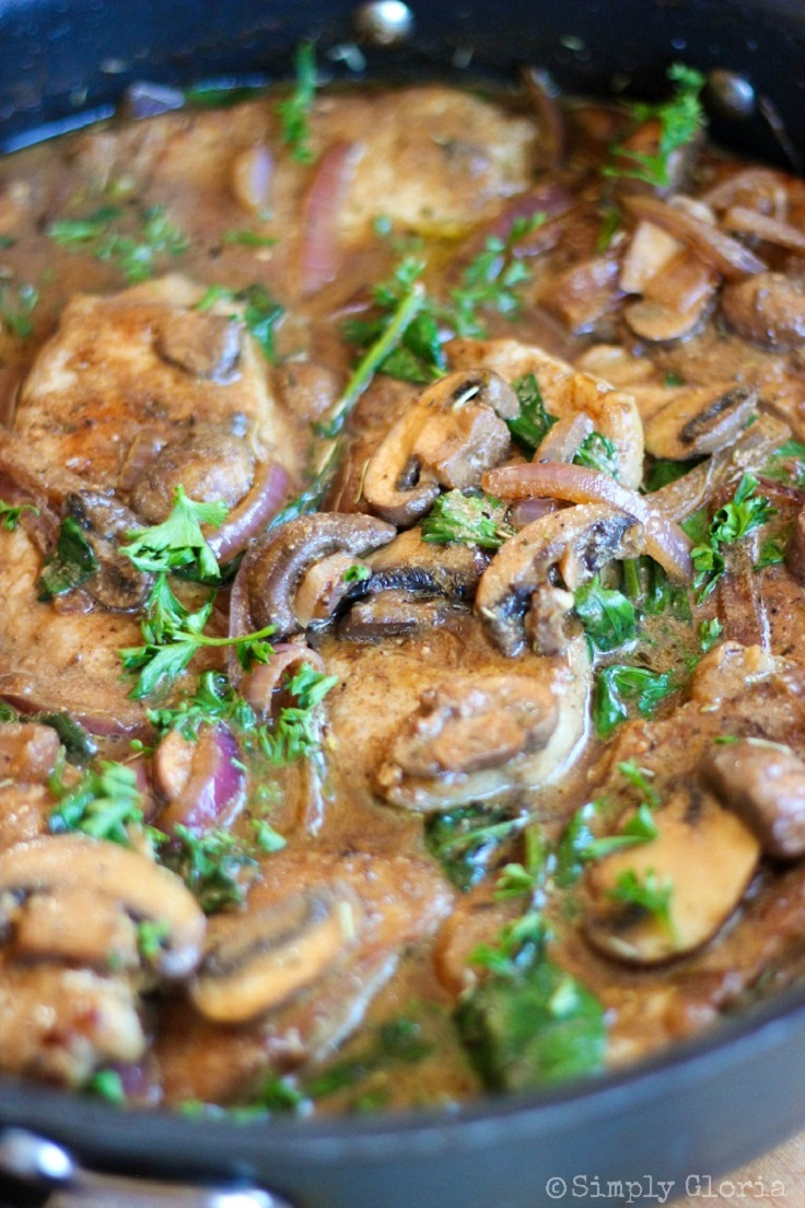 Top 10 Lunch Ideas with Mushroom Sauce