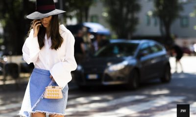 Top 10 Wonderful Street Style Looks from Milan Fashion Week SS 2016 | Top Inspired