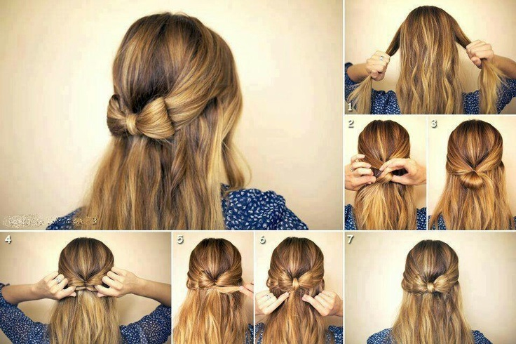 Top 10 Easy No Heat Hairstyles For Medium or Long Length Hair - Top ...