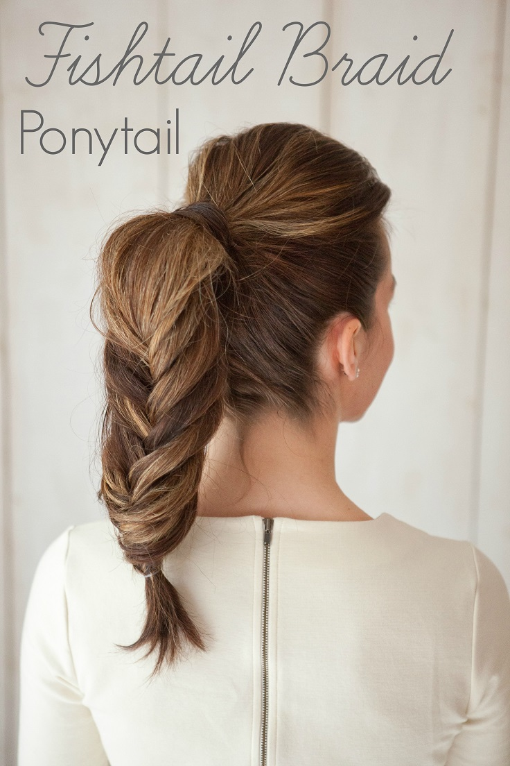 Brilliant Top 10 Beautiful And Easy Ponytail Hairstyles Top Inspired Short Hairstyles For Black Women Fulllsitofus