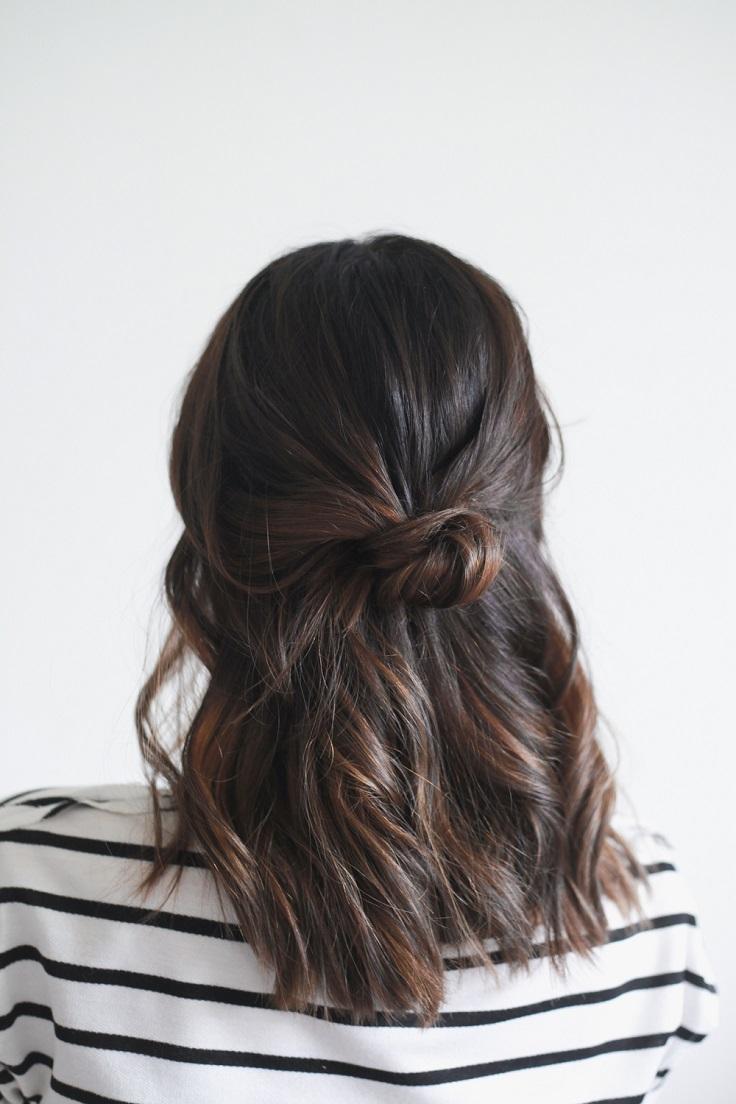 half-up-knot