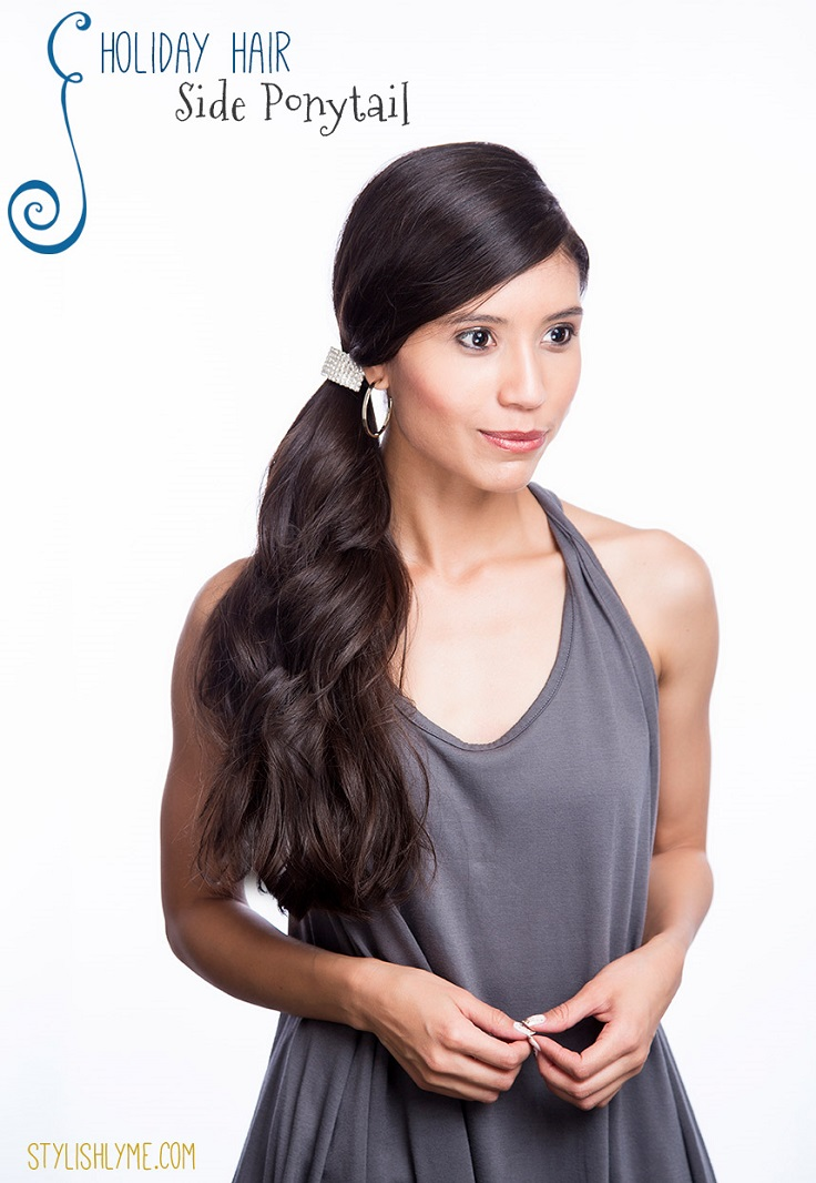 One Ponytail Hairstyles