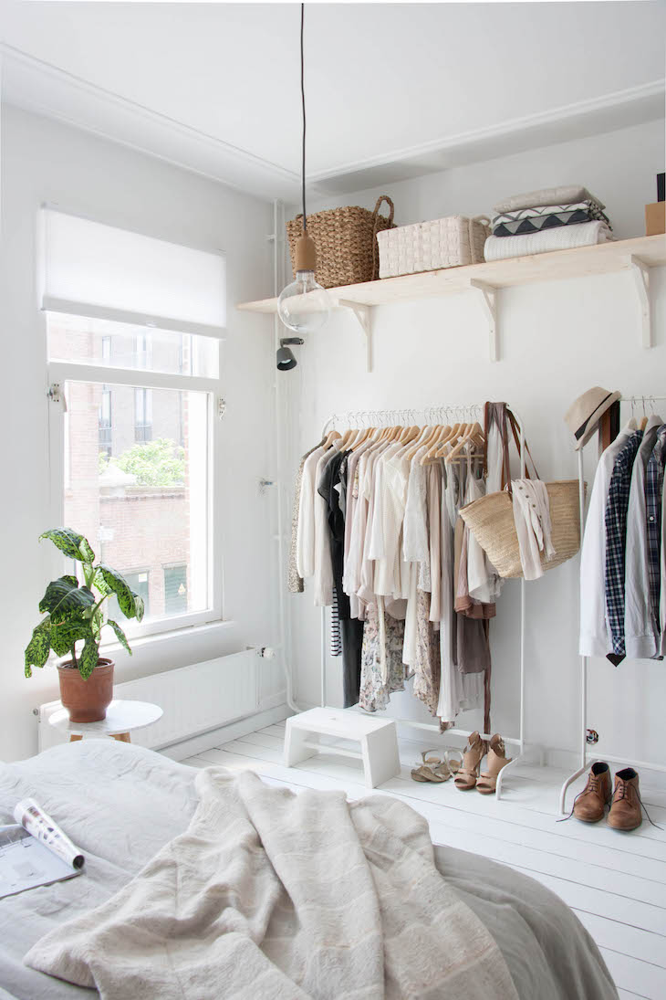Beautiful TOP 10 Stylish Open Closet Ideas