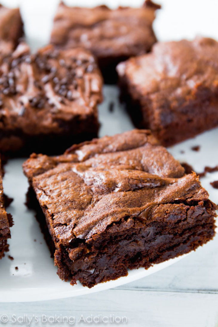 best homemade brownies recipe you'll ever try. My whole family begs ...