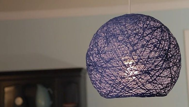 Top 10 creative diy lampshades top inspired yarn lampshade top 10 creative diy lampshades aloadofball Image collections
