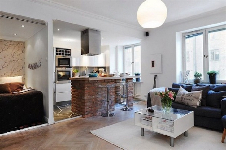 BEST 10+ Open Plan Kitchen - Living Room Ideas for Small Spaces