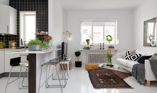 TOP 10 Kitchen-Living Room Combos for Small Apartments | Top Inspired