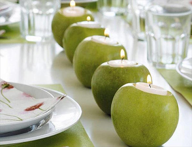 toptable-decorating-ideas-spring-summer-green-apples-candle-holders-tealights