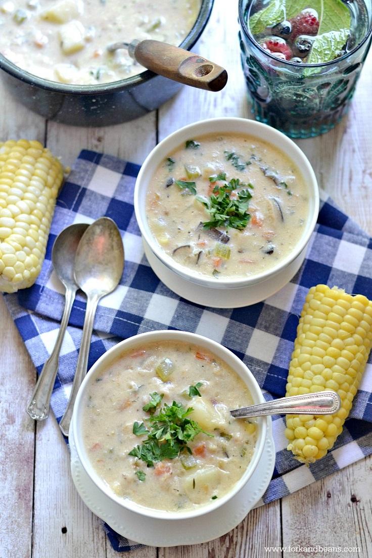 Top 10 Super Tasty Vegan Chowder Recipes