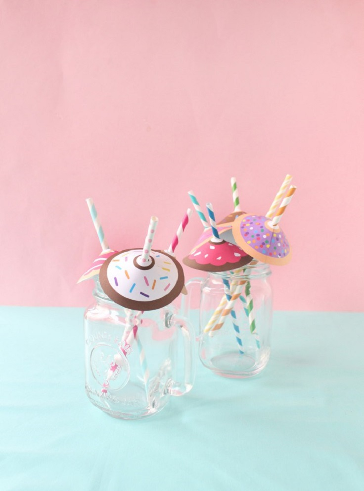 donut-straw-umbrellas