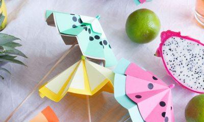 Top 10 DIY Creative Cocktail Umbrella Ideas | Top Inspired