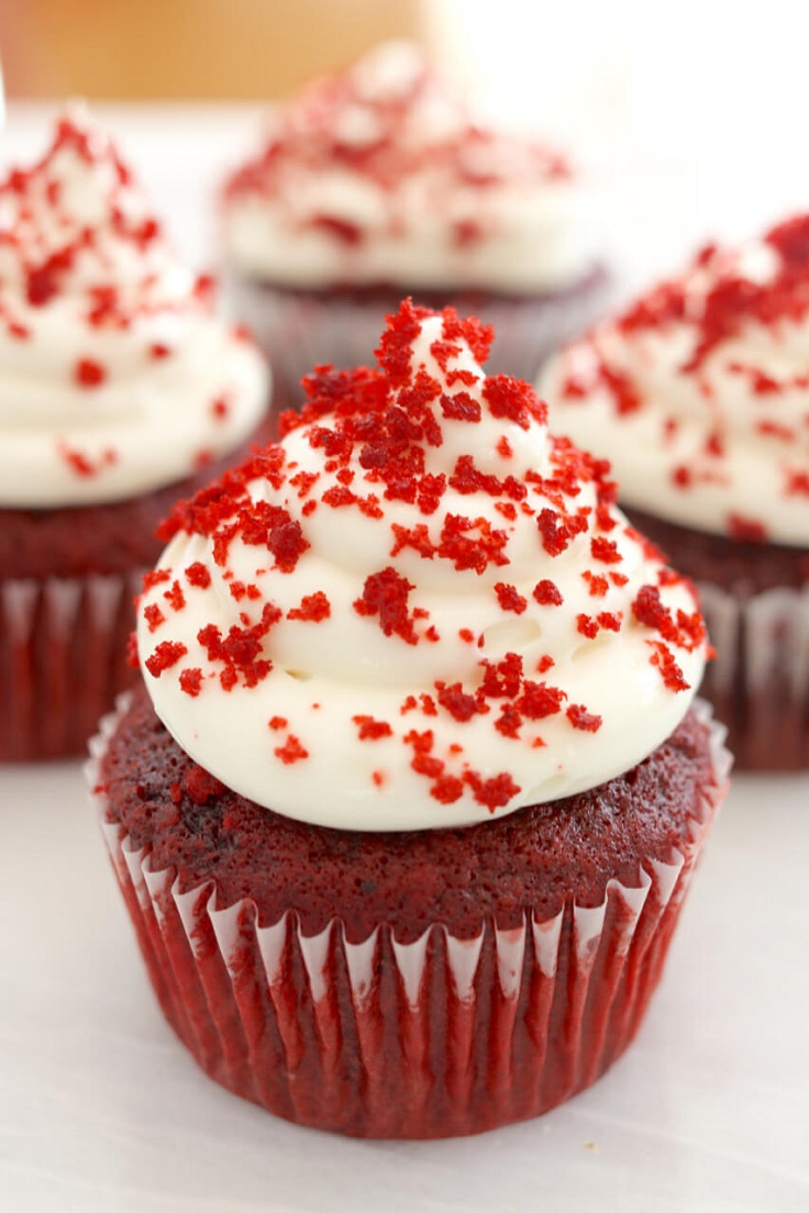 Top 10 Red Velvet Delicious Deserts