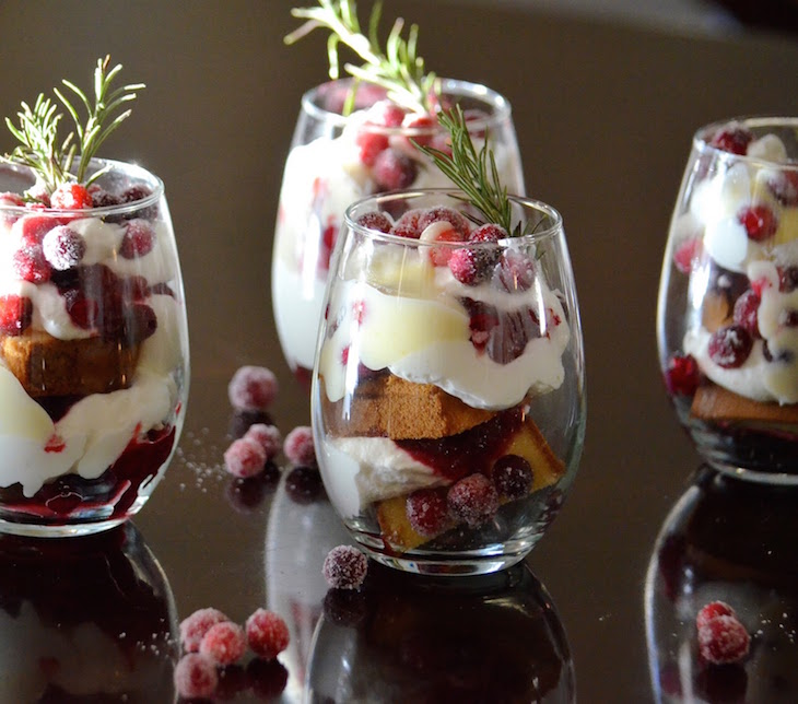 10 trifle recipes for thanksgiving quick and easy top for Quick and easy trifle dessert recipes