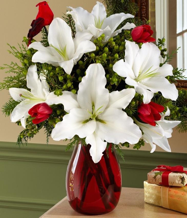 Top most beautiful christmas vase arrangements
