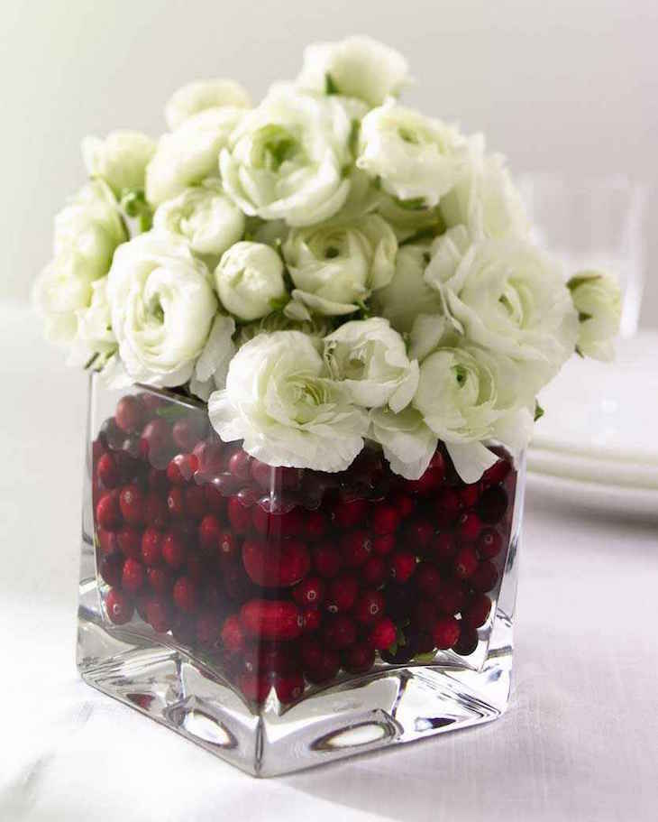 Top 10 Most Beautiful Christmas Vase Arrangements Top: small christmas centerpieces