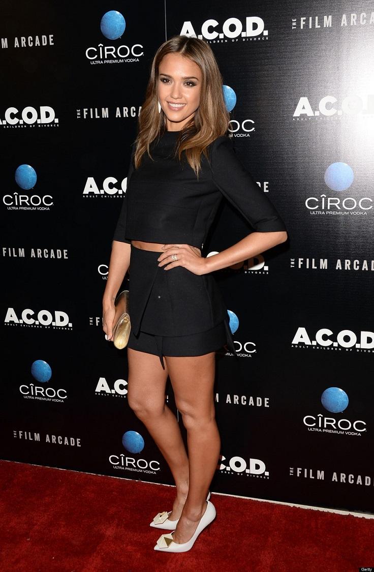 Top 10 Wonderful Red Carpet Looks Of Jessica Alba Top