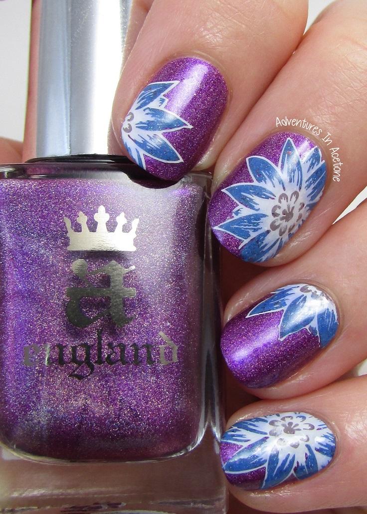Floral-Stamping
