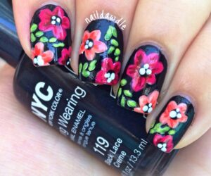 Top 10 Floral Nail Art You Are Going to Love