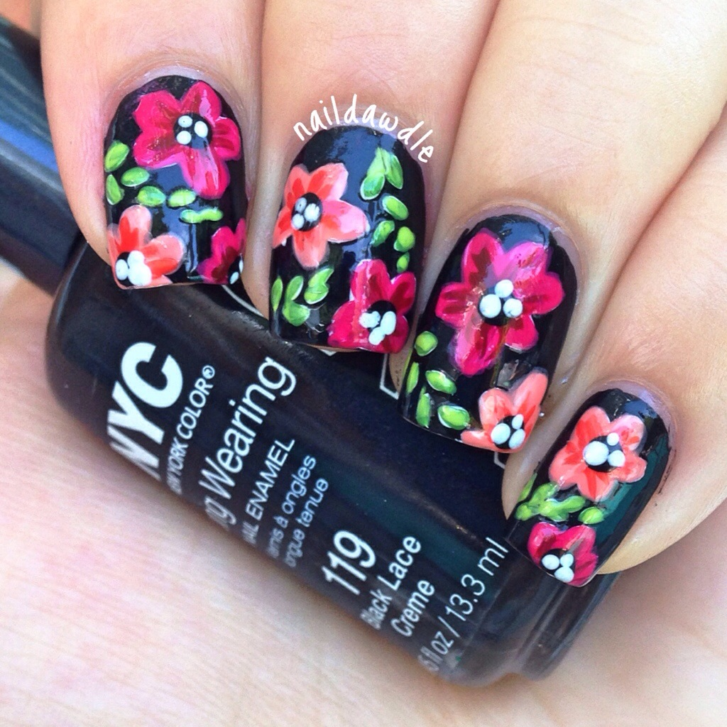 Top 10 Floral Nail Art You Are Going To Love Top Inspired