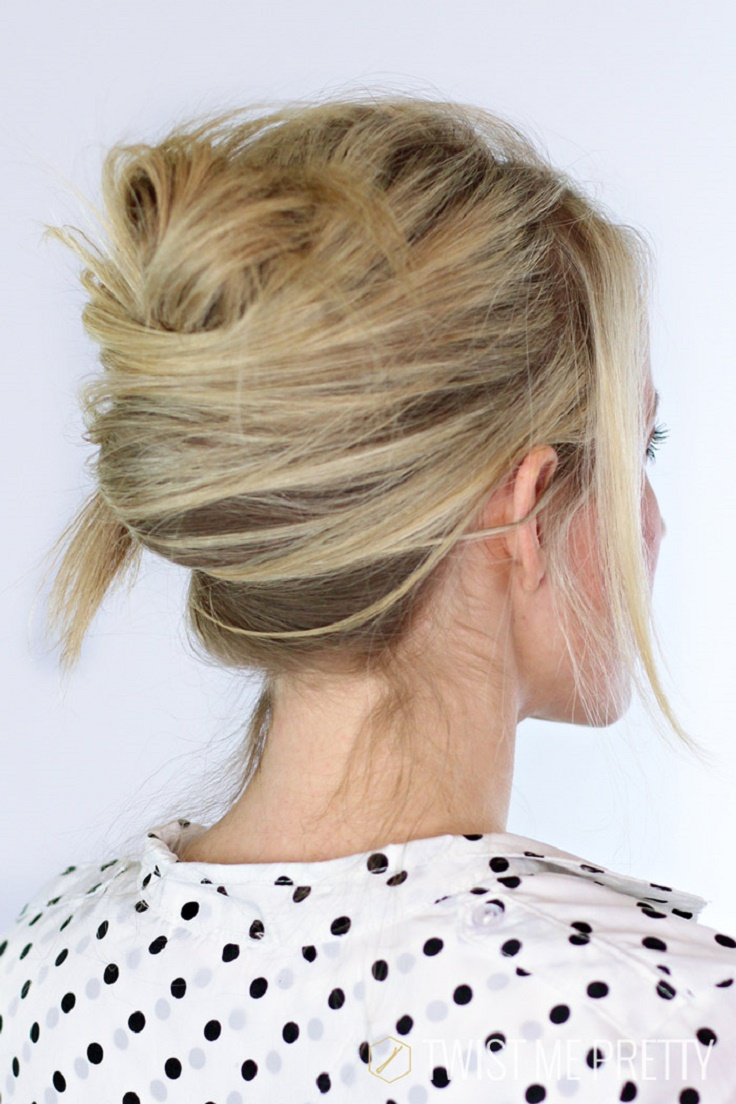 French Twist Hair Style by stevesalt.us