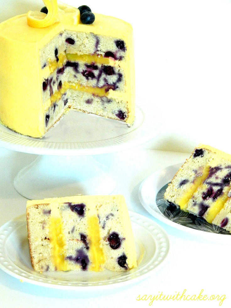Lemon Curd Layer Cake Recipe — Dishmaps