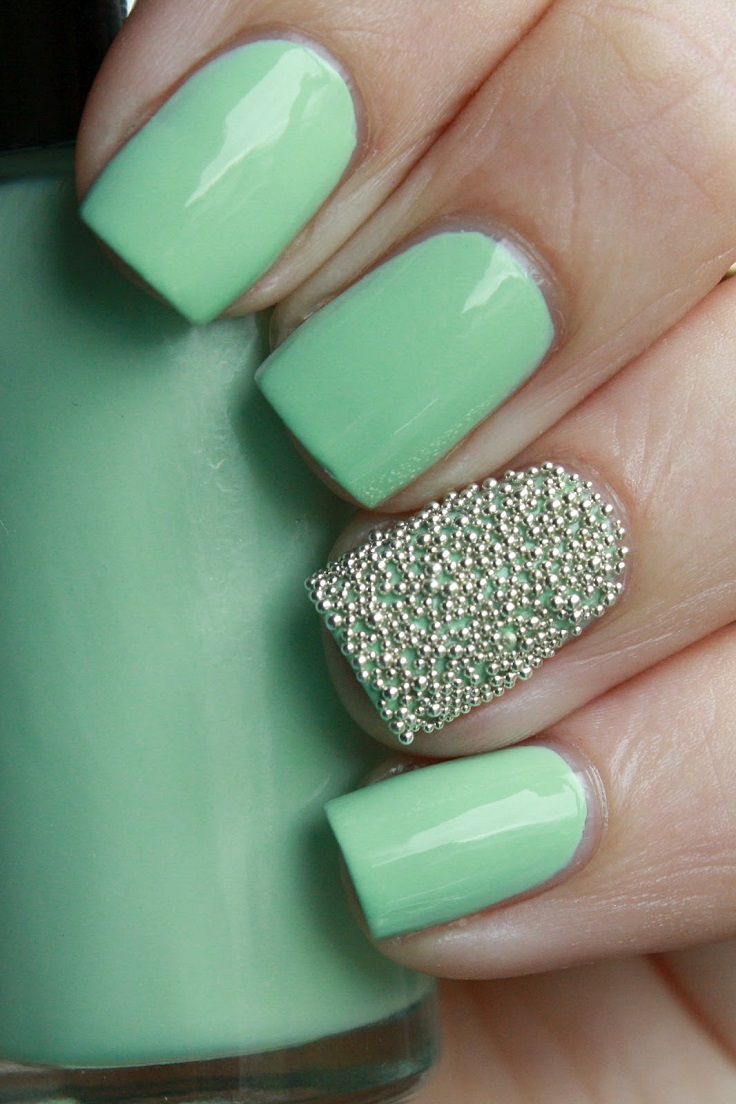 Mint-and-Mini-Beads