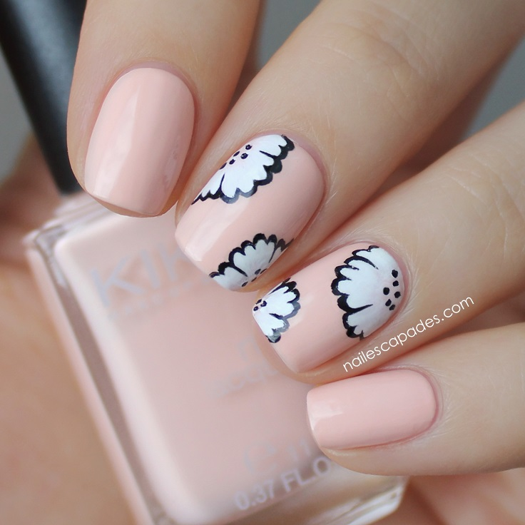Lovely Nail Art Simple Easy Designs Big Tutorial Nail Art Simple Flat Starry Night Nail Art Cute Nail Art Easy Youthful Toe Fungus Nail Polish BlackHot Design Nail Polish Top 10 Pastel Nail Art Ideas You Will Love   Top Inspired