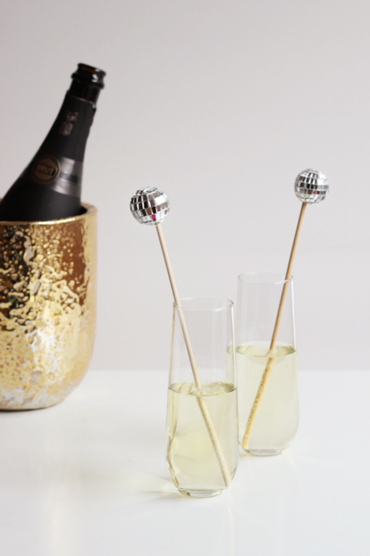 topdiy-disco-ball-crafts-drink-stirrers