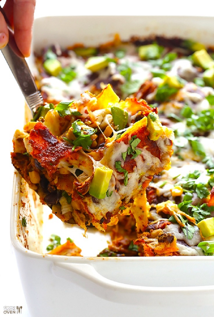 Chicken-Enchilada-Casserole