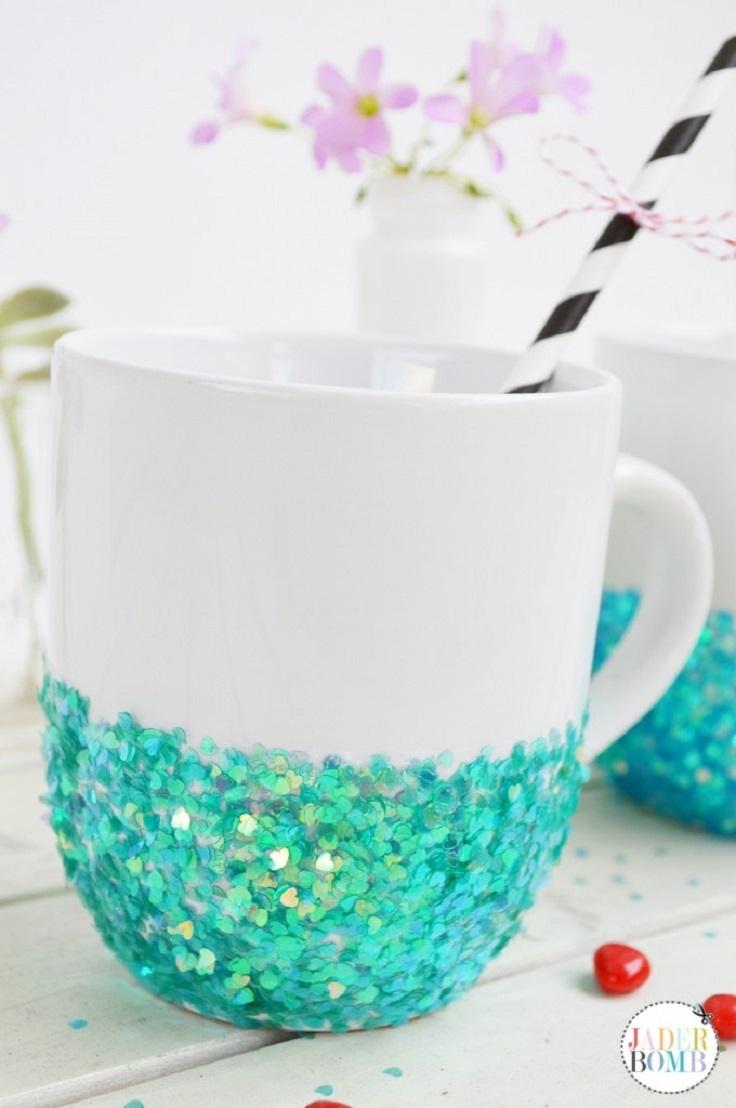 Glittered-Mug