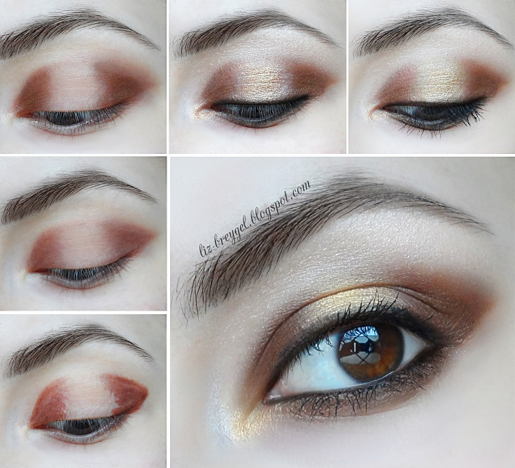 Top 10 Beautiful Shimmery Makeup Ideas - Top Inspired