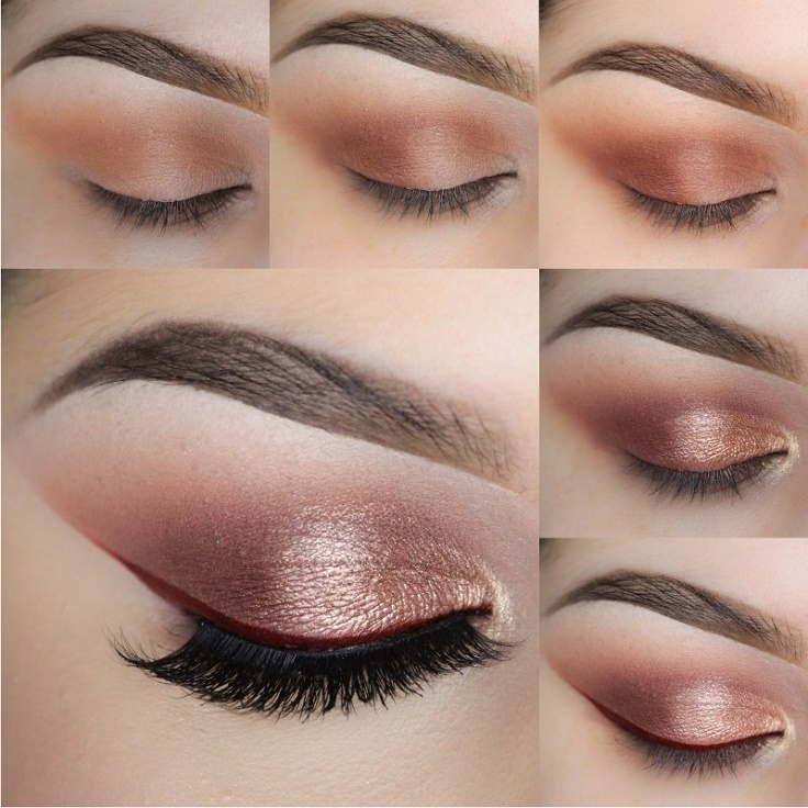 Top 10 Beautiful Shimmery Makeup Ideas Top Inspired