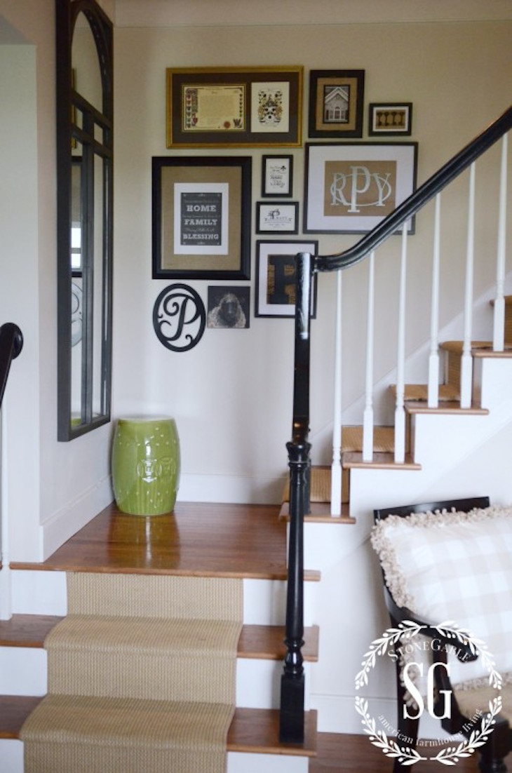 Ideas For Wall Decor On Stairs : Gallery wall ideas best way to transform your home
