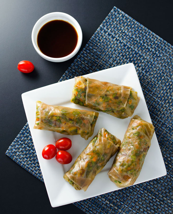 topteriyaki-veggie-spring-rolls