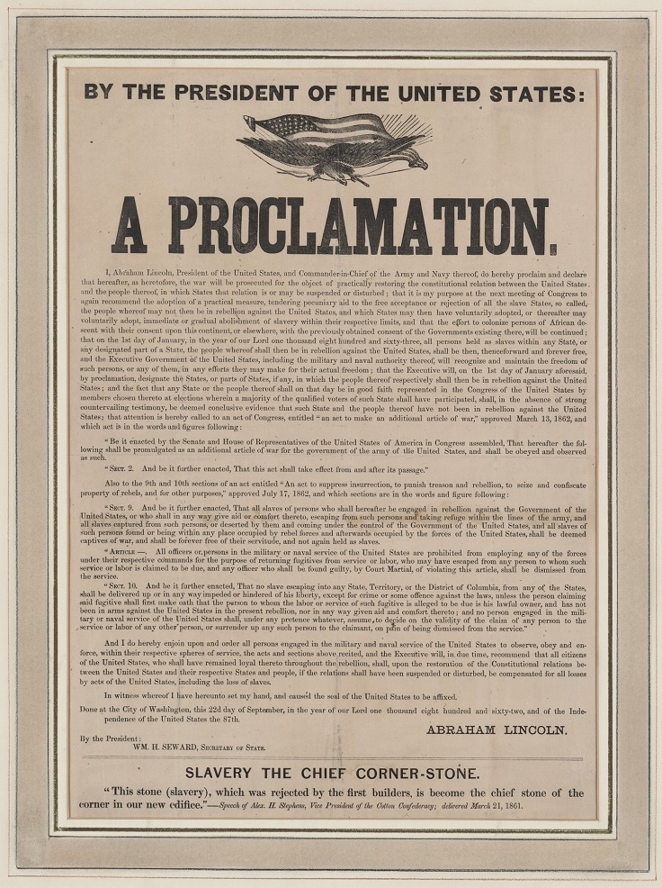 Emancipation-Proclamation-by-Abraham-Lincoln