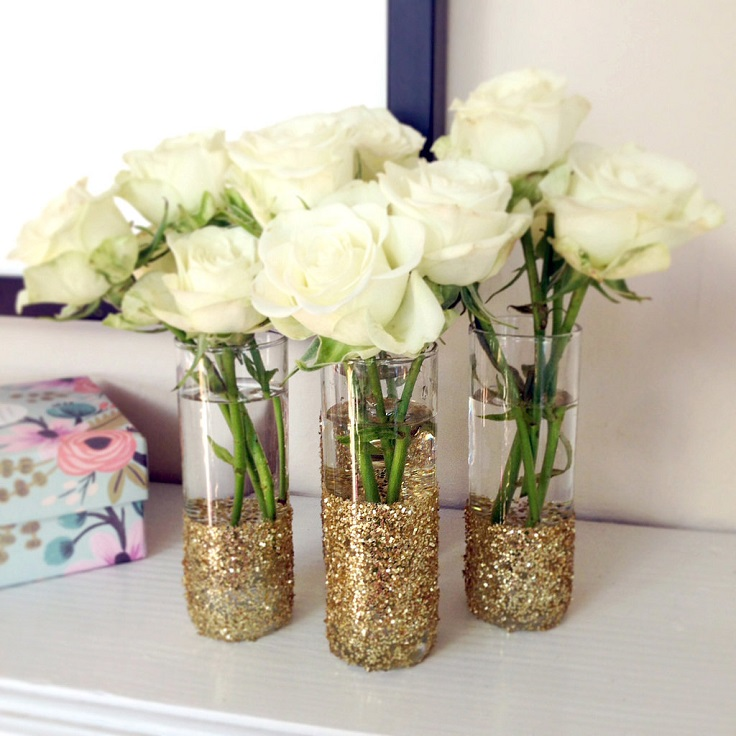 Glitter-Shot-Glass-Vase