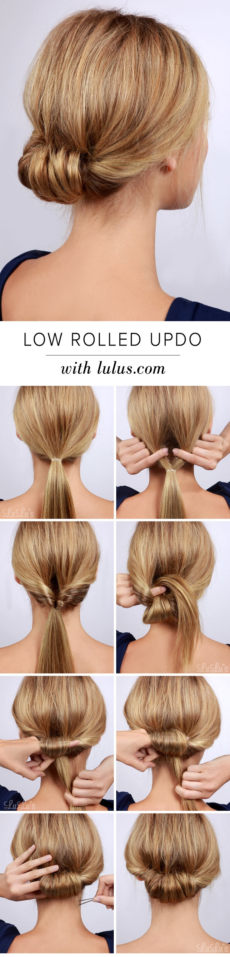 Low-Rolled-Updo
