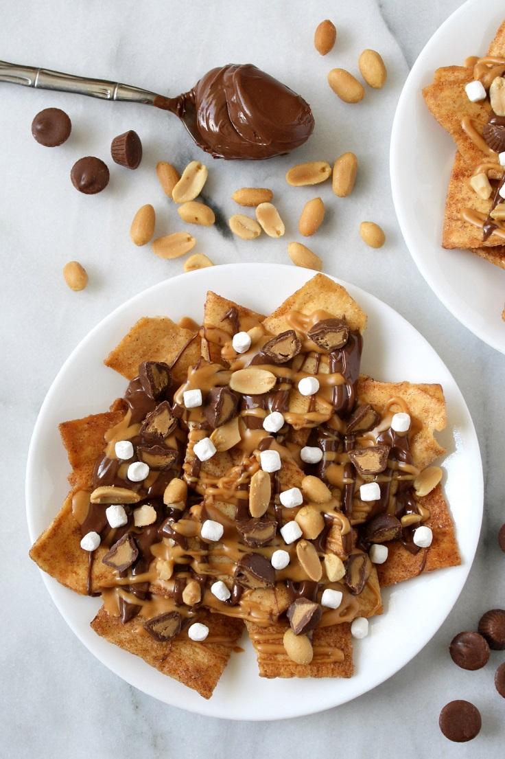 Peanut-Butter-Smores-Nachos