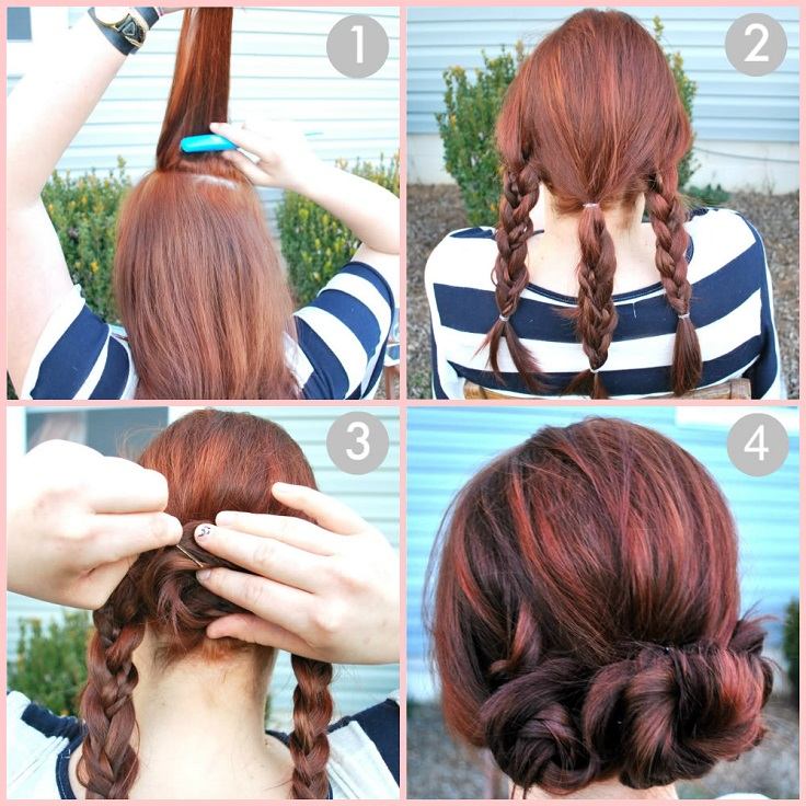 Admirable Top 10 Adorable Updo Hairstyles For Every Hair Length Top Inspired Natural Hairstyles Runnerswayorg