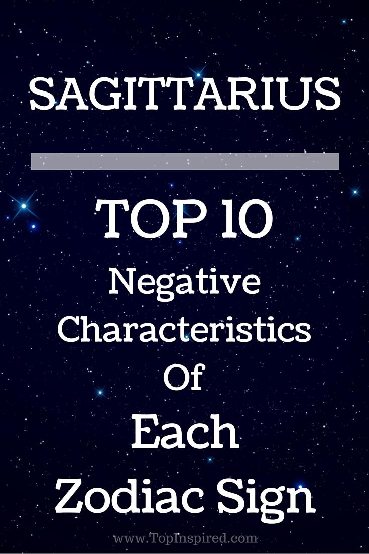 TOP 10 Negative Characteristics Of Each Zodiac Sign