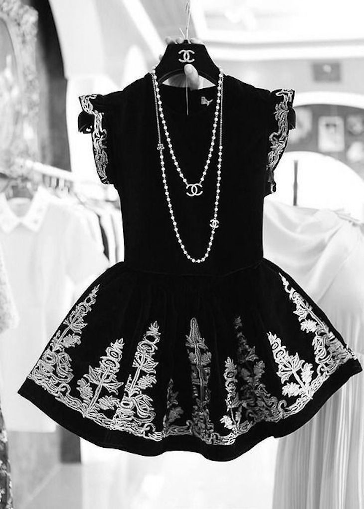 black-and-white-dress